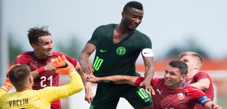 نيجيريا تخسر أمام التشيك بهدف في ختام استعداداتها لكأس العالم