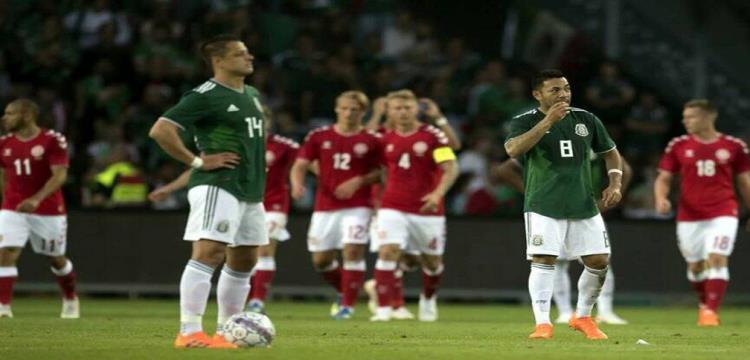 الدنمارك تهزم المكسيك بهدفين استعدادا للمونديال