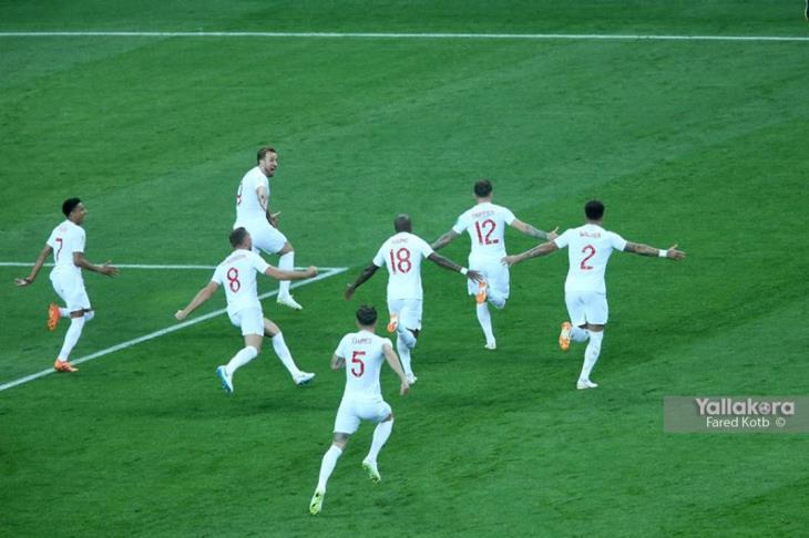 بالفيديو.. إنجلترا حاولت التعادل أثناء احتفال كرواتيا بالهدف