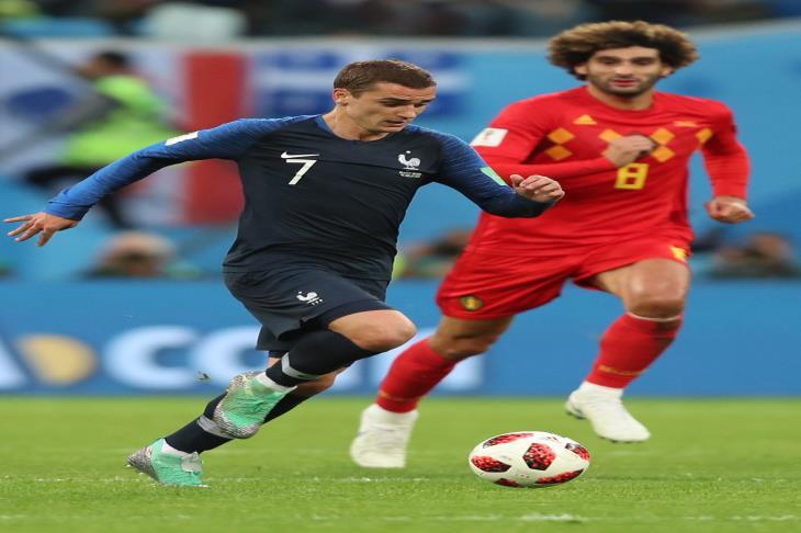 جريزمان يشرح.. كيف سجلت فرنسا هدف الفوز في شباك بلجيكا؟