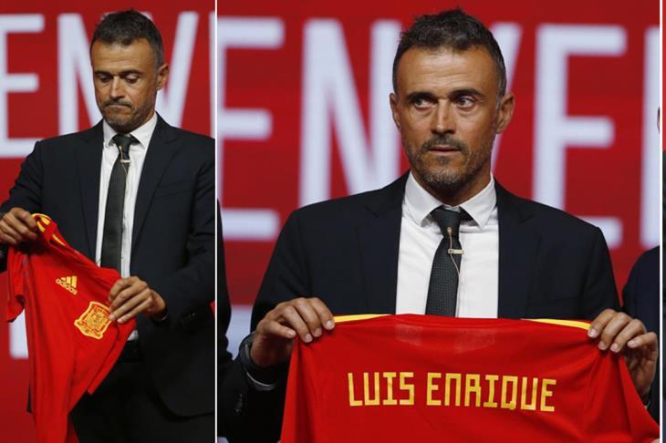 إنريكي يتعهد بمواصلة عمل لوبيتيجي مع المنتخب الإسباني