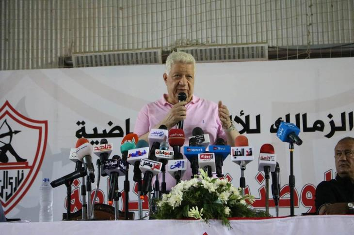 مرتضى منصور يجتمع برباعي الزمالك.. وأول رسائل أمير بعد منصبه الجديد