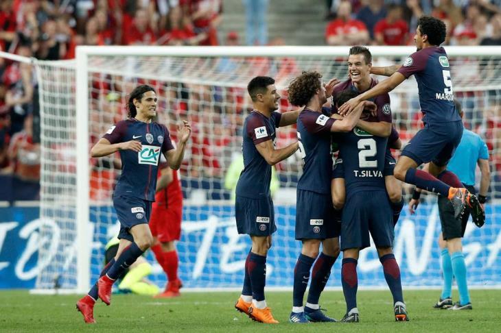 سان جيرمان يتعادل مع ستراسبورج بالدوري الفرنسي
