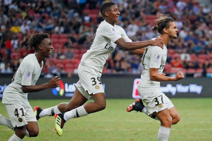 سان جيرمان يحقق انتصاره الأول في الكأس الدولية للأبطال على حساب أتلتيكو مدريد