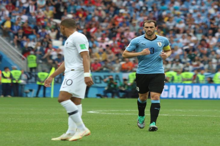جودين يصبح القائد التاريخي لأوروجواي في كأس العالم