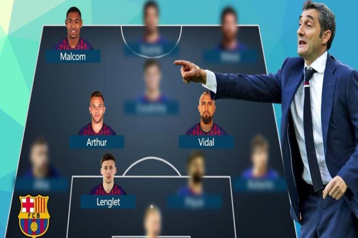 ميركاتو برشلونة.. خطف مالكوم ضمن 4 صفقات.. واستفادة قياسية من الراحلين