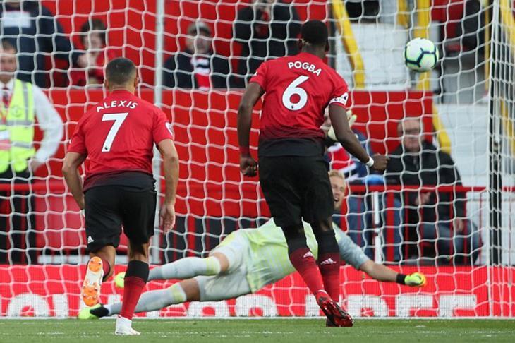 مانشستر يونايتد يفتتح البريميرليج بانتصار صعب على ليستر سيتي