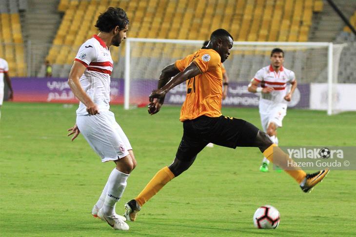 الزمالك يتفنن في إهدار الأهداف ليكتفي بتعادل مع القادسية بالبطولة العربية