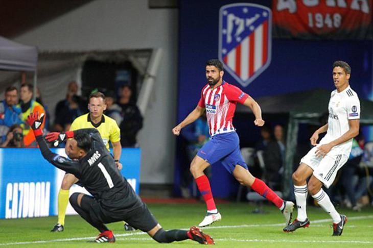 السوبر الأوروبي.. ريال مدريد 2-2 أتلتيكو مدريد.. الوقت الإضافي