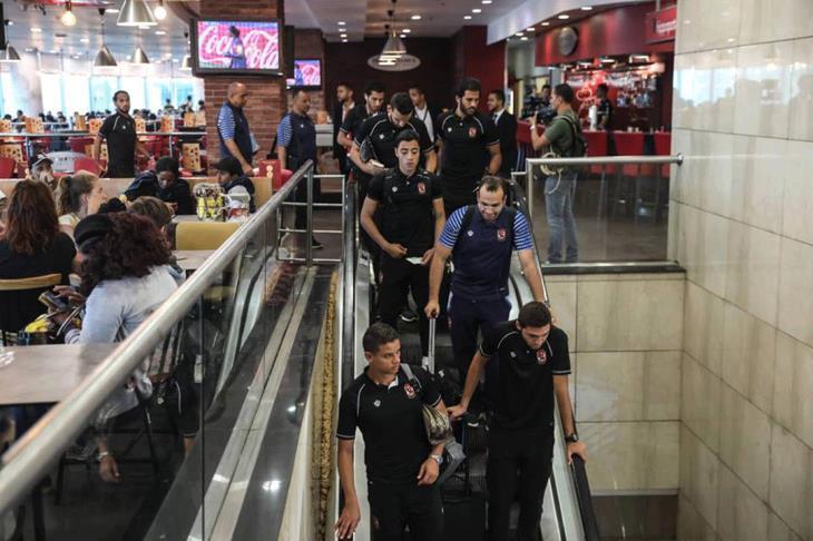 بعثة الأهلي تصل تونس استعدادًا لمواجهة الترجي بدوري الأبطال