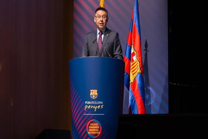 رئيس برشلونة:عززنا صفوف الفريق للفوز بجميع الألقاب