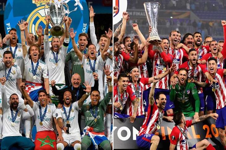 """""""ديربي مدريد الأوروبي"""".. تفوق ملكي وإخفاق أتليتكو في النهائيات"""
