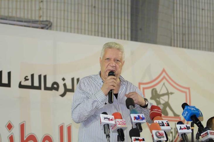 """مرتضى منصور: لن أسمح بالتحقيق مع المجلس.. وهدايا تركي """"شخصية"""" لكن منحتها للزمالك"""