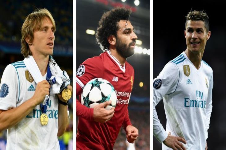 الويفا يُعلن.. صلاح ينافس كريستيانو ومودريتش على جائزة أفضل لاعب في أوروبا
