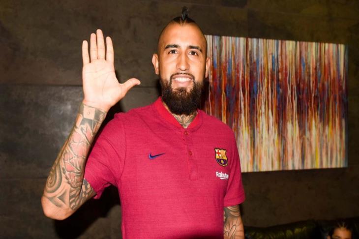 فيدال: اللعب لبرشلونة أهم بكثير من التواجد مع بايرن ميونخ