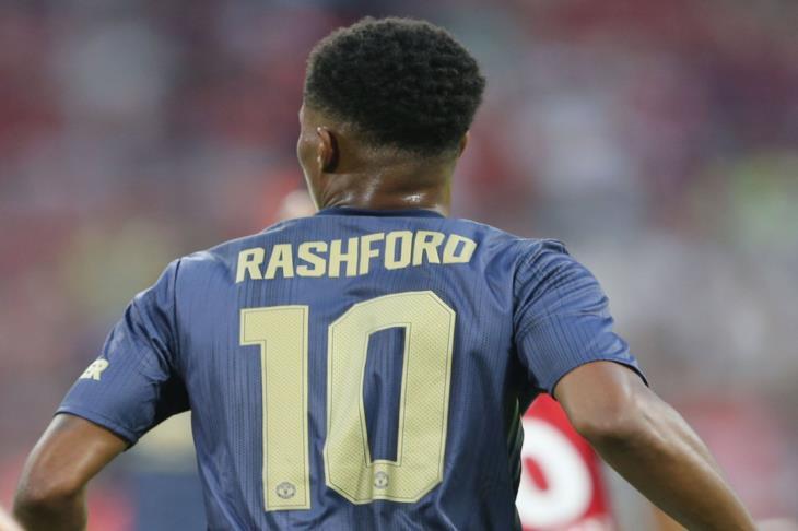 راشفورد يحصل على القميص رقم 10 مع مانشستر يونايتد