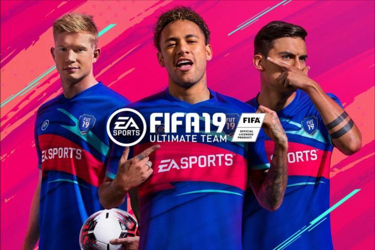 ثلاثي باريس سان جيرمان يقودون فريق الموسم في الدوري الفرنسي بلعبة FIFA19