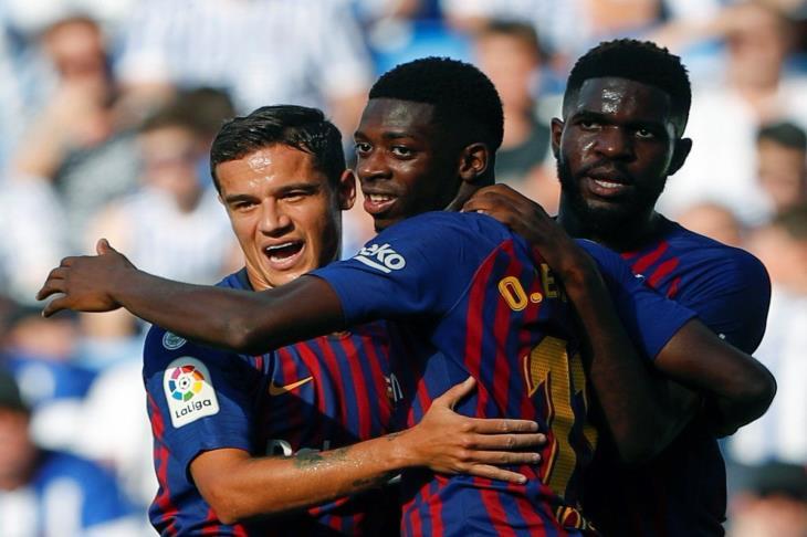 بالفيديو.. ريمونتادا برشلونة تعود.. البارسا يفوز على سوسيداد بثنائية ويؤمن صدارة الليجا