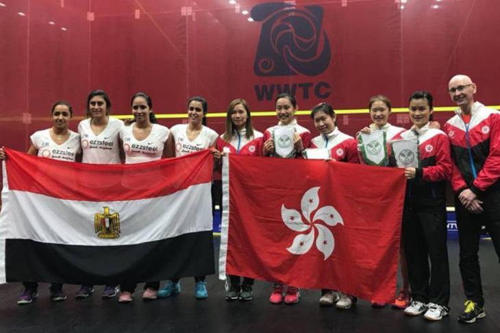 اسكواش.. مصر تتأهل لنهائي كأس العالم للفرق للمرة الخامسة