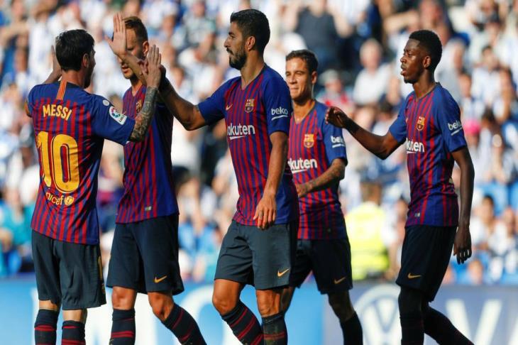 سكاي سبورتس: برشلونة يفقد سواريز أمام توتنهام