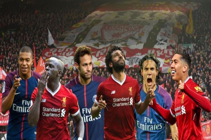 SMF ضد NMC.. ليفربول يستضيف باريس في موقعة دوري الأبطال