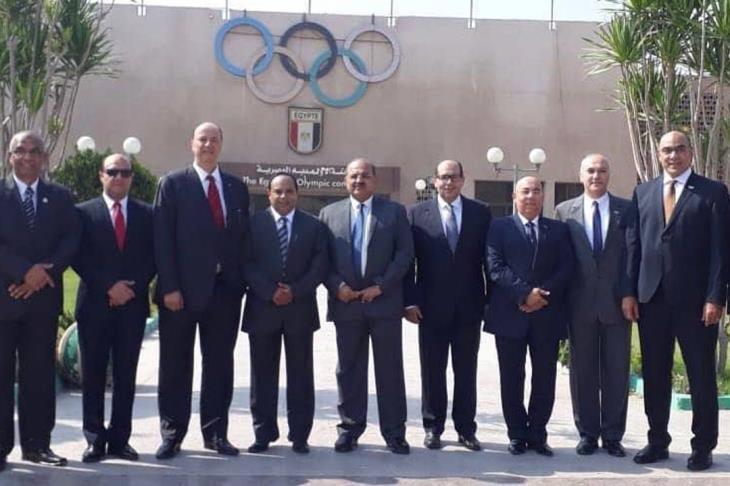 وفد من الأولمبية المصرية في سويسرا لبدء الإجراءات الرسمية ضد مرتضى