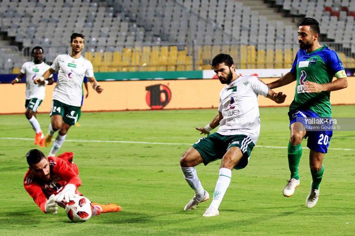 المصري يتعثر بتعادل مع دجلة في الدوري المصري