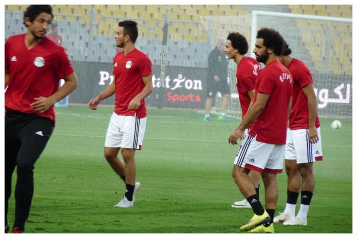 19 لاعبًا في مران المنتخب استعدادًا لتونس.. وصلاح ينضم الثلاثاء