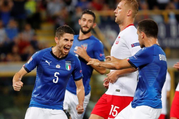ايطاليا تتعادل بصعوبة مع بولندا بدوري الأمم الأوروبية