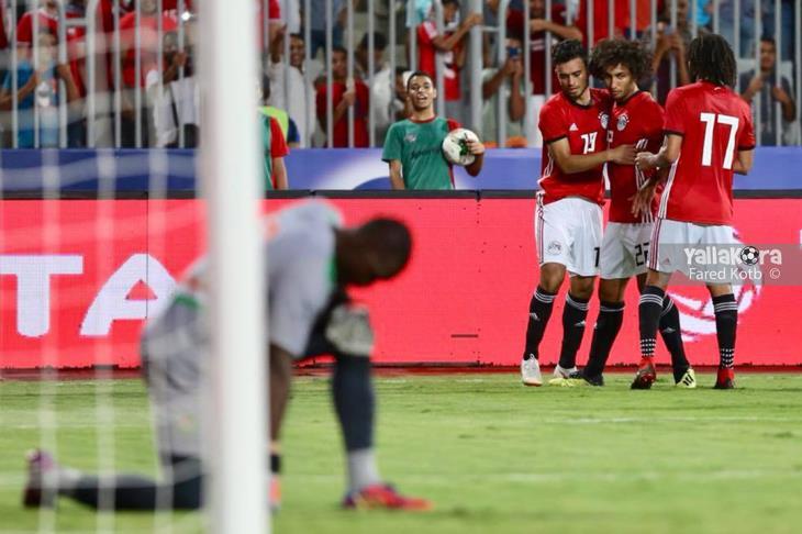 تشكيل المنتخب.. جنش حارسًا.. علاء يظهر.. ومحسن يقود الهجوم ضد نيجيريا