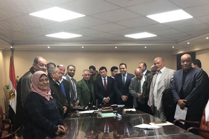 أشرف صبحي: أتعهد بأن تشهد الأيام المقبلة إجراءات مرضية لجماهير بورسعيد