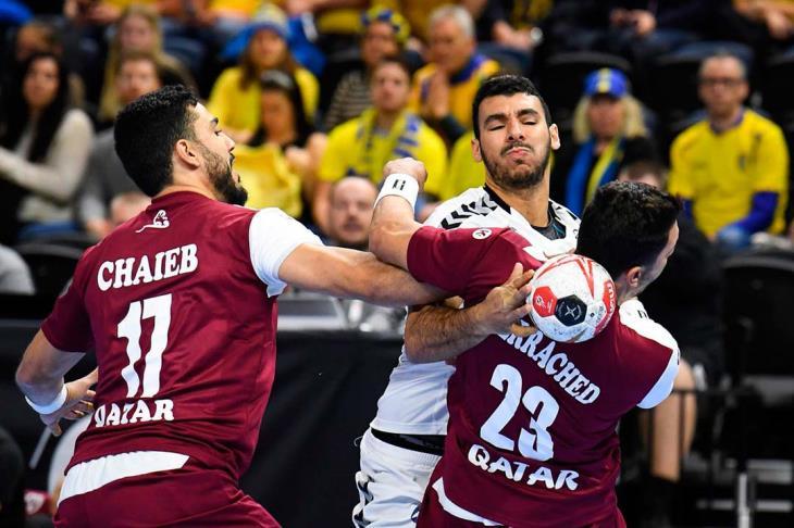 قطر تعبر تشيلي لتواجه روسيا على كأس الرئيس بمونديال اليد