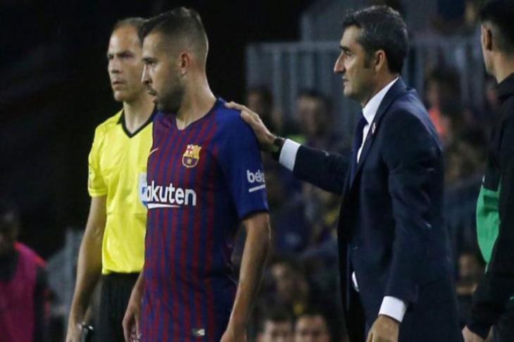 برشلونة يجمد مساعيه لتجديد عقد جوردي ألبا