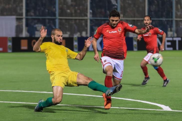 بالفيديو.. هدفه الإفريقي الأول.. نيدفيد يسجل التعادل للأهلي أمام شبيبة الساورة