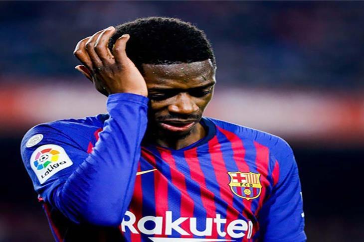 برشلونة يعلن مدة غياب ديمبيلي عن الملاعب
