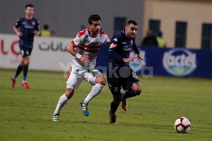 مصدر بالزمالك ليلا كورة: طارق حامد قد لا يشارك أمام المصري