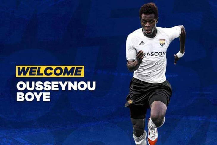"""رسميًا.. الجونة يتعاقد مع السنغالي """"أوسوينو"""" بعد تجربة أوروبية"""