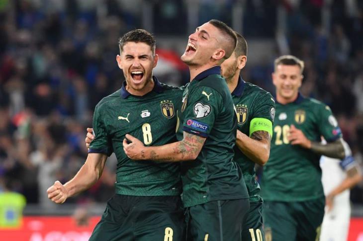 رسميًا.. إيطاليا تتأهل ليورو 2020 بالفوز على اليونان
