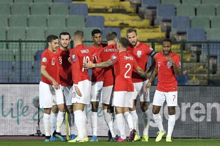 إنجلترا تكتسح بلغاريا 6-0 في تصفيات يورو 2020