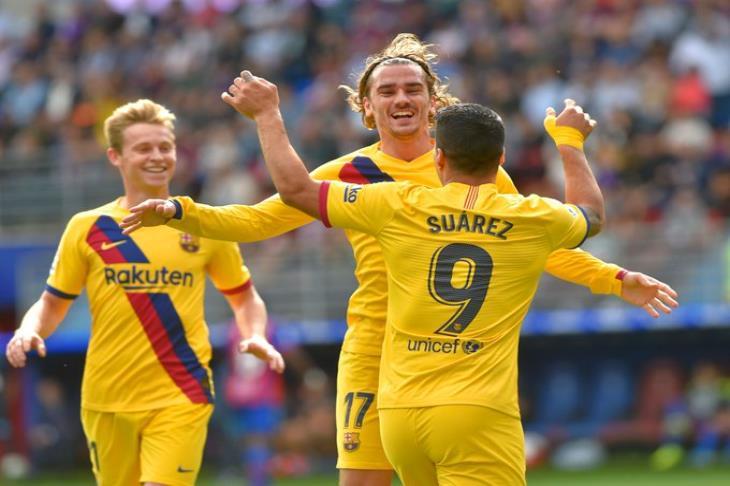جريزمان يعترف بحاجته إلى الوقت للتأقلم أكثر مع برشلونة