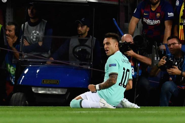 برشلونة مهتم بضمه.. تقارير: إنتر لا يمانع رحيل مارتينيز