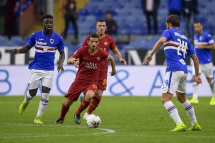 تعادل روما وسامبدوريا سلبيا في الدوري الإيطالي