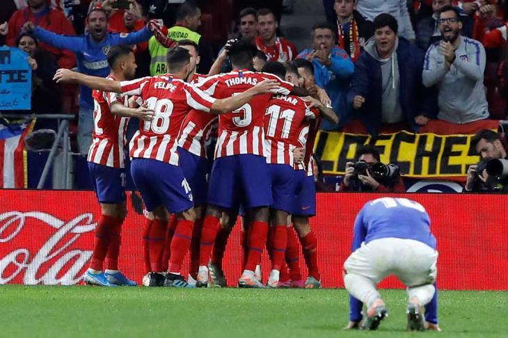 أتلتيكو مدريد يعلن إصابة ليمار في الفخذ