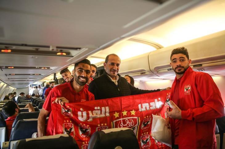 الأهلي يسافر إلى تونس بـ22 لاعبا استعدادا لمواجهة النجم بدوري الأبطال