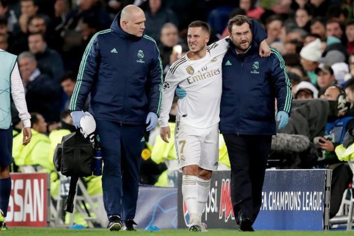 ريال مدريد يعلن حجم إصابة هازارد.. وتقارير: قد يلحق بالكلاسيكو