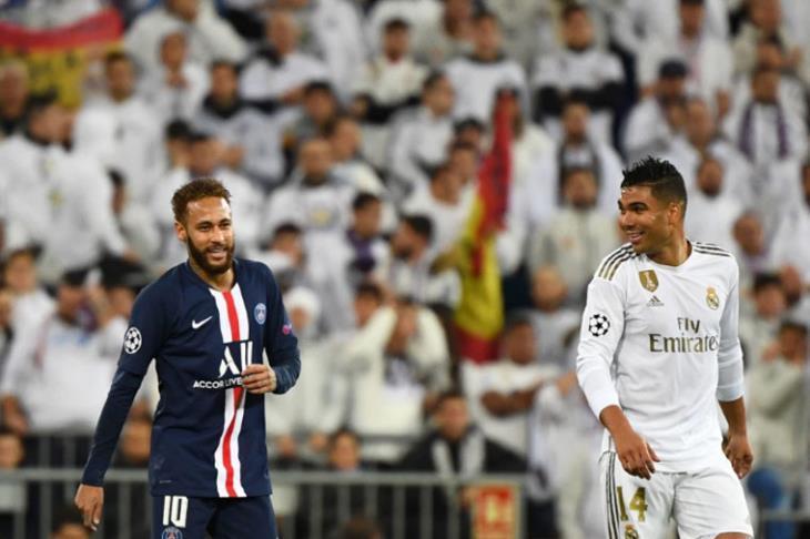 باريس يفسد احتفالات ريال مدريد ويرفض الاقتراب من صدارته في دوري الأبطال