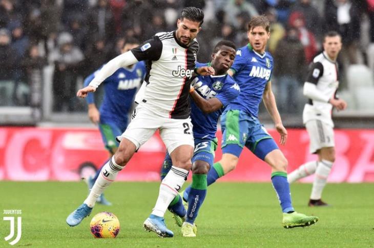 الصدارة مهددة.. ساسولو يفرض التعادل على يوفنتوس في الدوري الإيطالي
