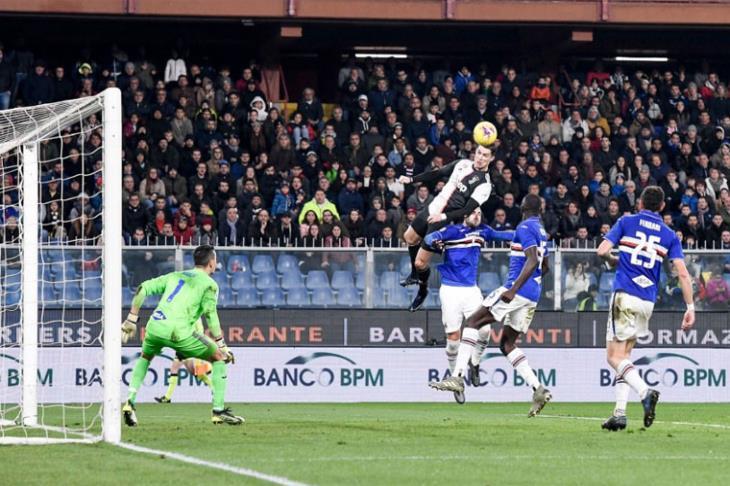بهدف فضائي لرونالدو.. يوفنتوس يستعيد قمة الدوري الإيطالي مؤقتاً