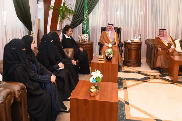 """""""الكرة تجمعنا"""".. السعودية تنظم أول بطولة خليجية """"نسائية"""" لكرة القدم"""