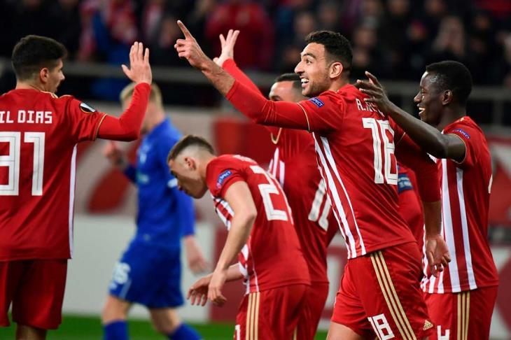 كوكا يسجل في تعادل غير جيد لأولمبياكوس.. والنني يشاهد خسارة أرسنال في الدوري الأوروبي